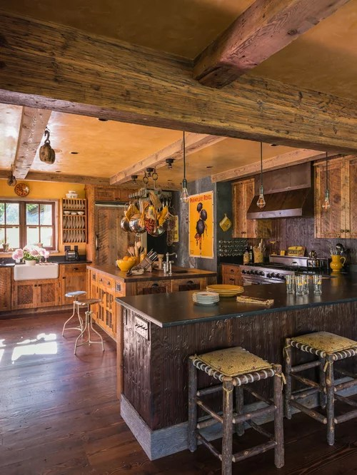 Rustic Wood Ceiling Beams Home Design Ideas Pictures