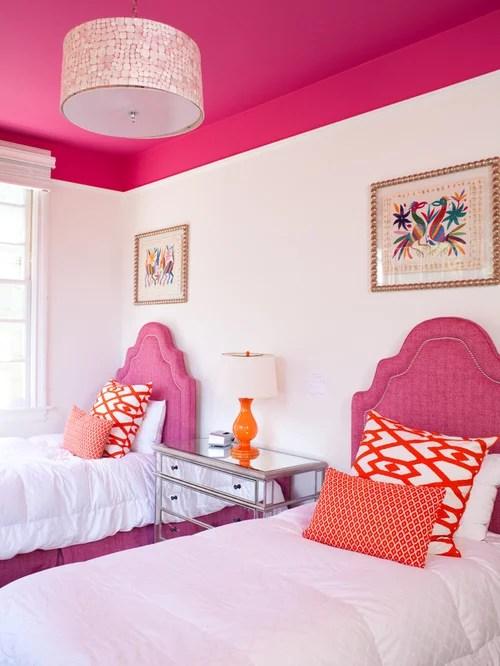 hot pink bedroom ideas | houzz