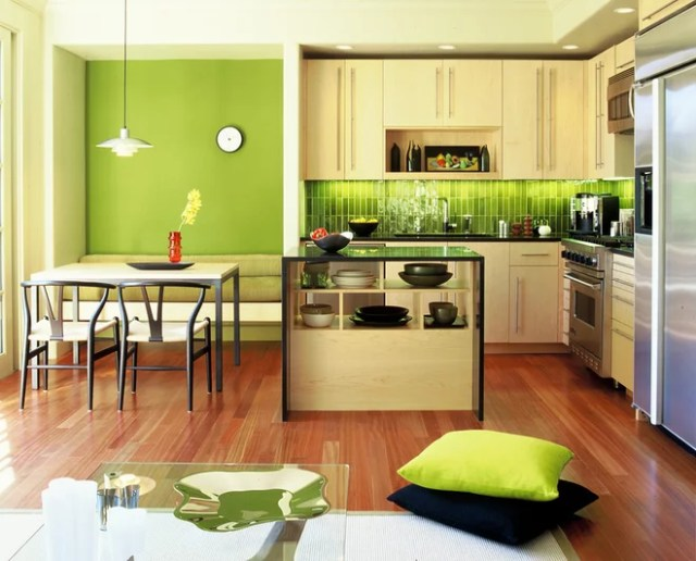 Modern Kitchen by Suzette Sherman Design