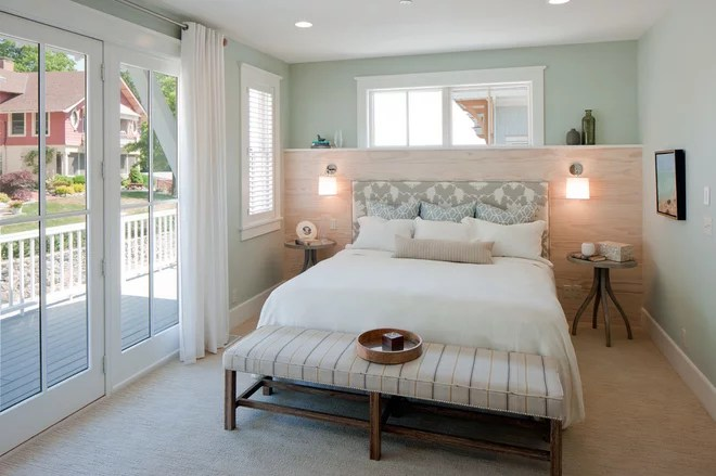 Beach Style Bedroom by The Homestead Shop Inc.