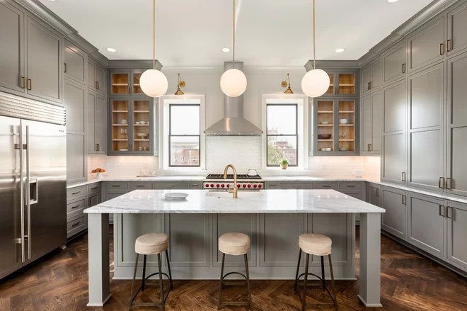 Transitional Kitchen by TNHometour.com