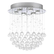 The Gallery Raindrop Chandelier With Crystal Chandeliers