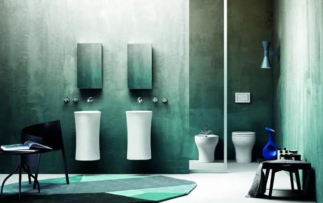 Sitio de baño contemporáneo de AZUR Cerámica