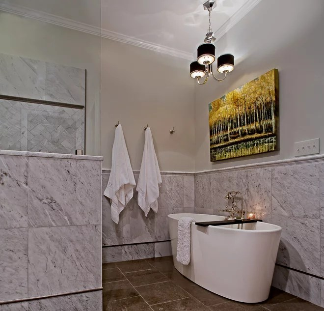 Contemporary Bathroom by Case Design/Remodeling