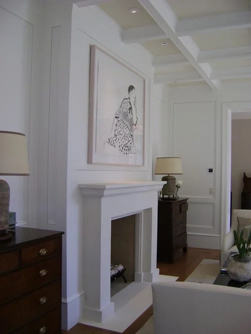 Contemporary Fireplace Mantels Houzz