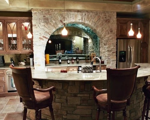 Stone Bar Front Ideas, Pictures, Remodel And Decor