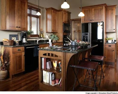 Black Kitchen Appliances Houzz