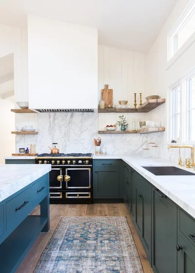 Beach Style Kitchen by Electric Bowery