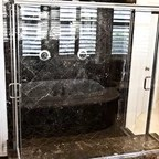 Master Bathroom Rustic Bathroom Other By Peace Design