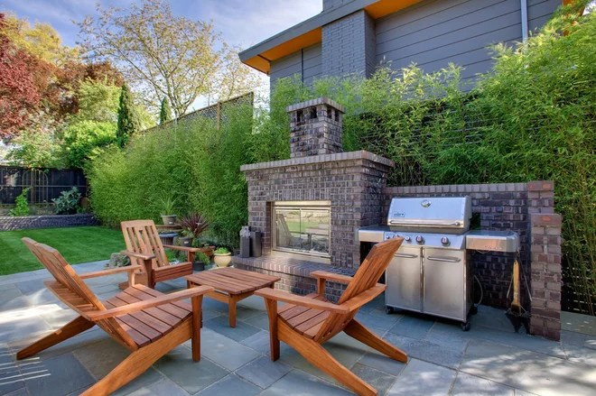 Craftsman Patio by Arts & Crafts Homes