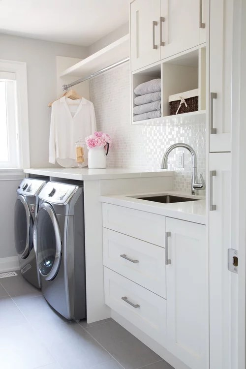 Need Deep Countertop For Over Washer Dryer