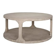 small round coffee tables houzz