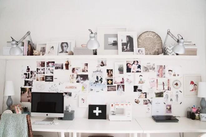 Moderne Bureau à domicile Home in Copenhagen, Denmark