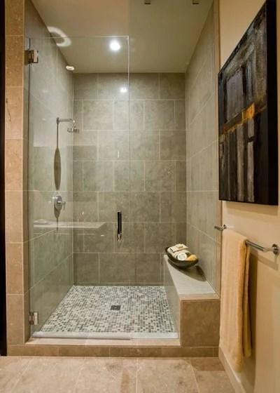 Contemporary Bathroom by Angela Todd Studios | Portland, OR