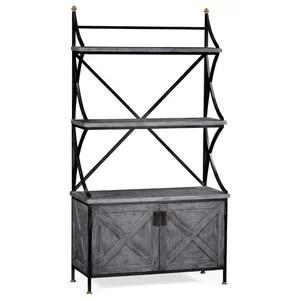 rustic corner baker s rack