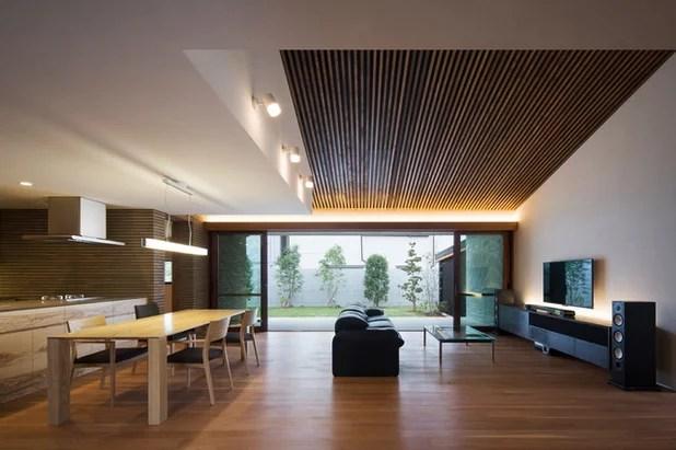 Contemporáneo Salón by Satoru Shirasaka Design Office|白坂 悟デザイン事務所