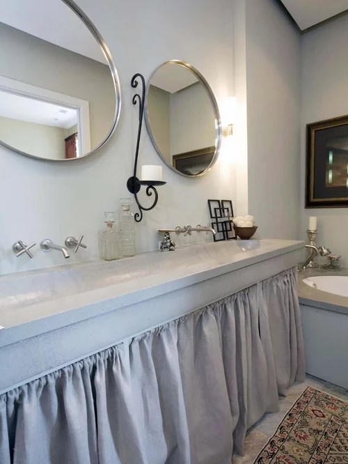Sink Skirt Houzz