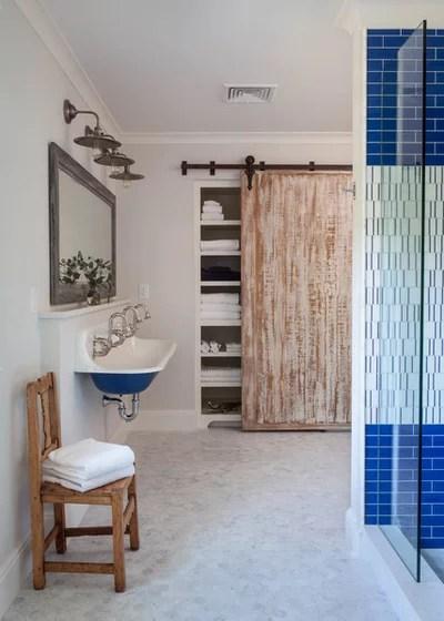 Transitional Bathroom by Huffard House Interior Design