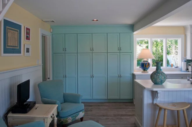 Beach Style Kitchen by PNB Interior Design, Inc.