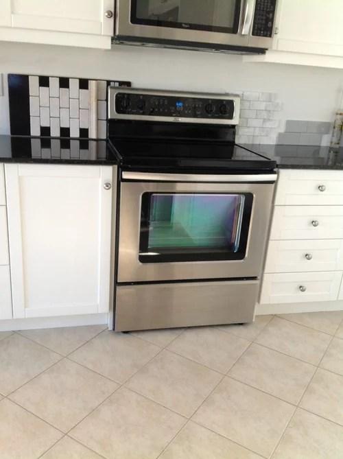 should kitchen tile backsplash be