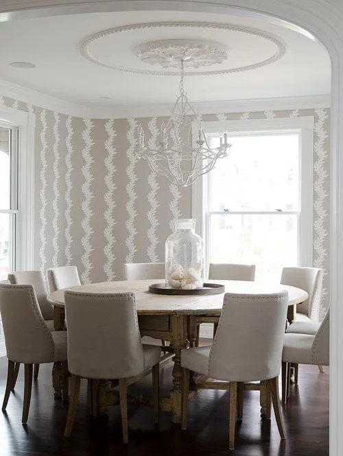 Large Round Table Houzz