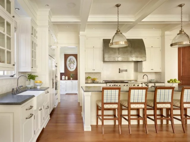 Traditional Kitchen by Stuart Silk Architects | Limited PS