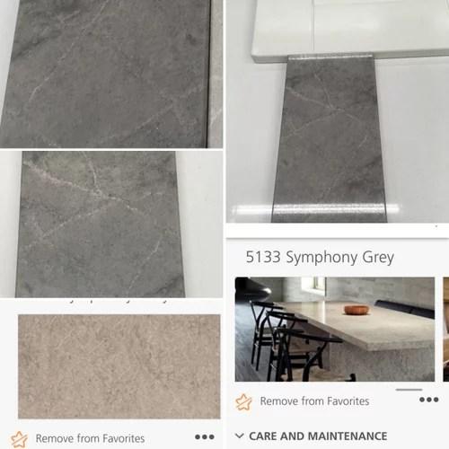 symphony grey quartz counters