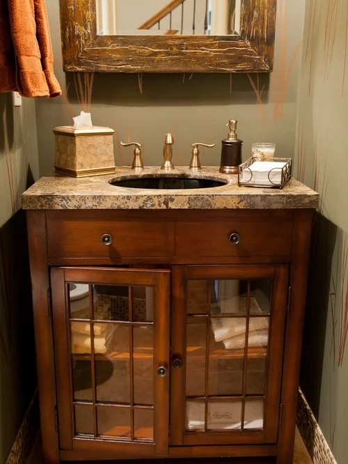 Rustic Half Bath Houzz
