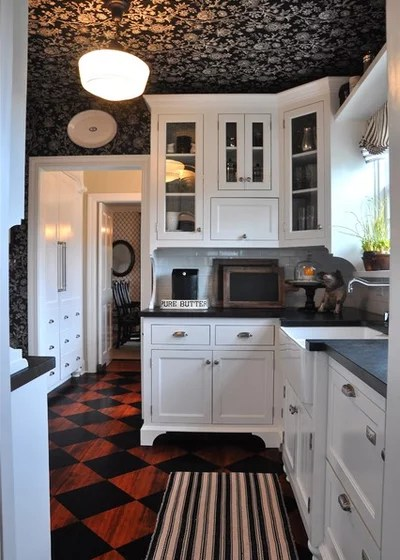 Kitchen by Kathy Ann Abell Interiors