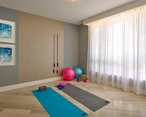Awesome Home Yoga Studio Design Ideas Images - Amazing Design ...