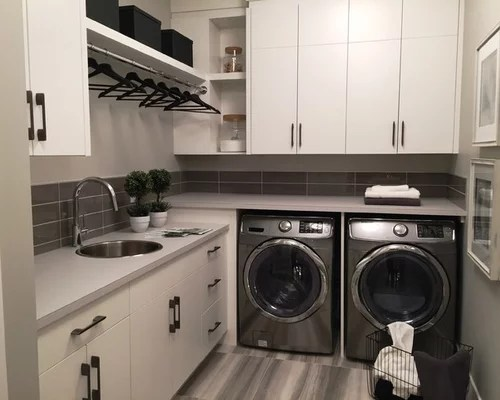 Modern L Shaped Laundry Room Design Ideas Renovations