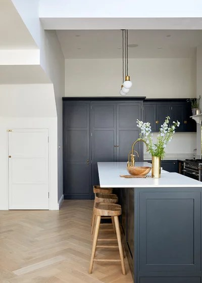 Victorian Kitchen by Hannah Gooch Interior Design