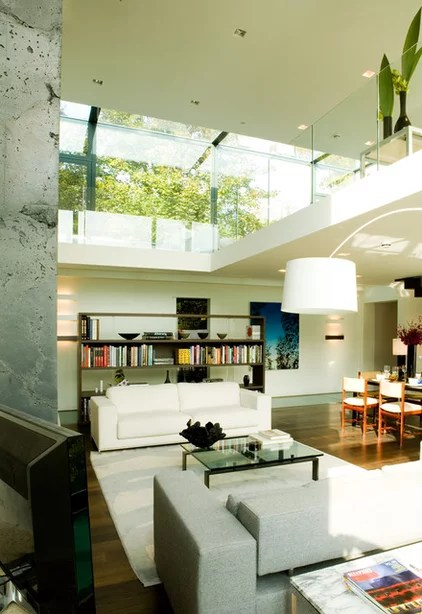 Contemporary Living Room by Pennington Phillips