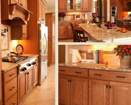 Granite Countertops Maple Cabinets