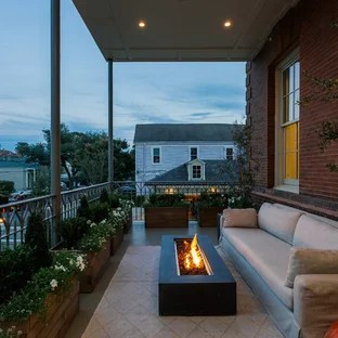 75 Beautiful Contemporary Balcony With A Fire Pit Pictures Ideas January 2021 Houzz