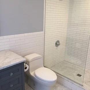 traditional ceramic tile bathroom