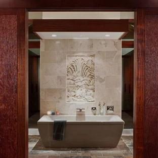 75 beautiful asian mosaic tile floor