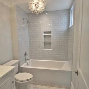 75 beautiful tub shower combo pictures
