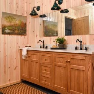 75 beautiful orange bathroom pictures