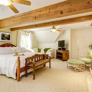 75 Beautiful Bedroom With Yellow Walls Pictures Ideas January 2021 Houzz