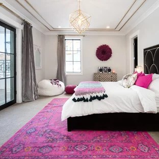 pink and black bedroom ideas and photos
