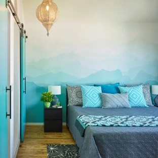 75 Beautiful Turquoise Bedroom Pictures Ideas January 2021 Houzz