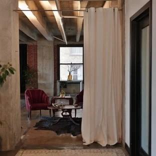curtain room divider houzz