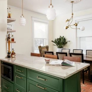 75 Beautiful Small Kitchen Dining Room Combo Pictures Ideas August 2021 Houzz