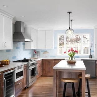 18 Beautiful L Shaped Kitchen With An Island Pictures Ideas October 2020 Houzz