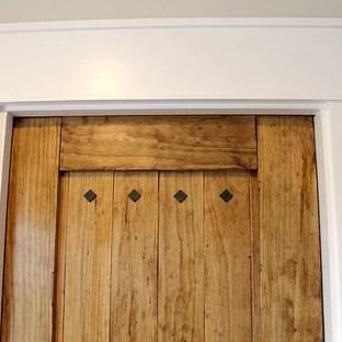 Rustic Pantry Door Houzz