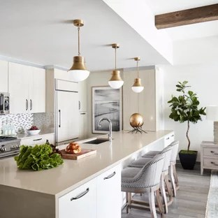 75 Beautiful Transitional Kitchen With Light Wood Cabinets Pictures Ideas January 2021 Houzz