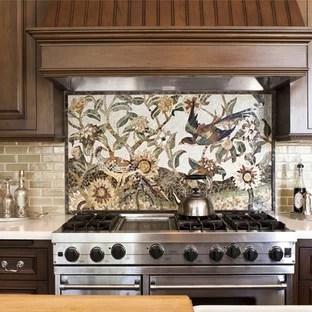 tile kitchen backsplash houzz