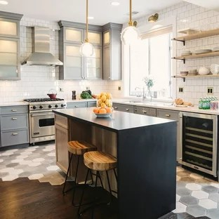 tile to wood transition ideas houzz