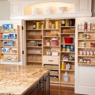 75 Beautiful Kitchen Pantry With Brown Backsplash Pictures Ideas January 2021 Houzz